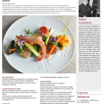 Le Petit Gourmet Hors-série Tables du Puy-de-Dôme